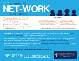 imi imiuoft twitter upper year graduating managementutm students there are still some spots available for the net work conf on 2 uoft me network pic twitter com
