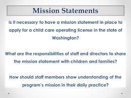 Child Care Mission Statements Major Magdalene Project Org
