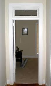 door with transom window