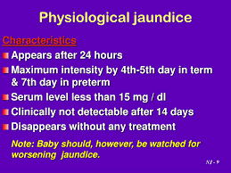 Ppt Neonatal Jaundice By Dr Nahed Al Nagger Powerpoint
