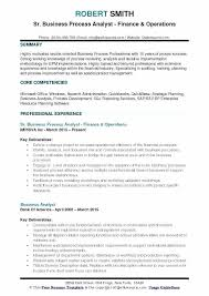 Project Analyst Resume Sample Financial Analyst Resume Examples The