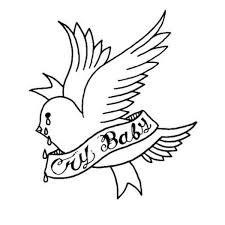 Lil Peep Crybaby Peep идеи для татуировок татуировки и