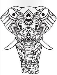 Mandala Elephant Coloring Pages At Getdrawingscom Free For