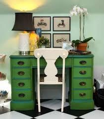 green painted furniture. green painted furniture