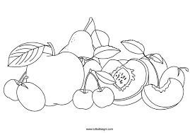 Frutta Estiva Estate Frutta Disegni Da Colorare E Colori
