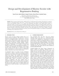 (PDF) Design and Development of <b>Electric Scooter</b> with ...