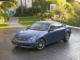 Infiniti G35 generations technical specifications and fuel economy