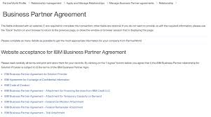 Ibm Business Partner Agreement