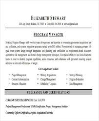 43 Manager Resume Samples In Pdf Sample Templates