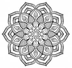 Small Picture Mandala Printable Contemporary Art Websites Mandala Coloring Pages
