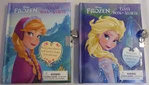 Disney Princesses Book Of Secrets Diary Journal w/ Lock & Key Spielzeug  Film- & TV-Spielzeug