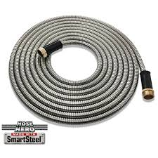 25 ft garden hose. Imperial Home Hose Hero 25 Ft Garden Lightweight Water Metal Hose, Silver #2681 G