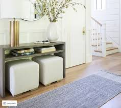 waterfall console table pottery barn