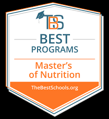 top master of nutrition degree programs badge