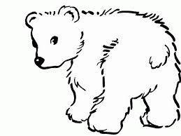 Small Picture Polar Bear Coloring Pages Coloring Coloring Pages