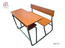 school desk and chair set. school furniture student desk and chair bench set t