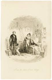 illustrations for dickens novels victoria and albert museum the emigrants etched illustration by hablot knight browne for david copperfield by charles dickens