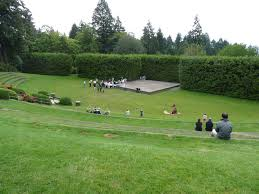 the outdoor amphitheater is the natural location for outdoor cultural events