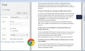 Save Web Pages as PDFs Without Installing Extensions