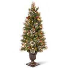National Tree Company 4 ft. Wintry Pine Entrance Artificial ...