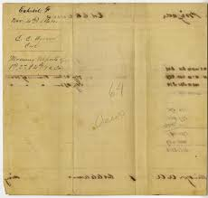 4 November 1864 Morning Report Of 1st 2nd 4th Ga Cav
