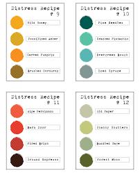 Distress Ink Color Chart 2017 Distress Color Combos Simon Says Stamp Blog