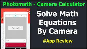 photomath app solve math problems using photomath calculator hindi