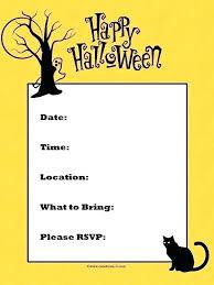 Free Halloween Birthday Invitation Templates Custom Halloween Invitations Free Invitation Templates Blank