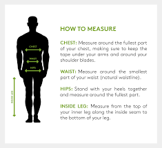 Mens Waist Measurement Chart Mens Clothing Size Chart