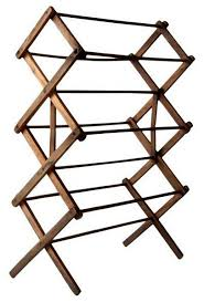 consigned antique wood drying rack