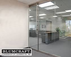 blumcraft 250 series door with deadbolt handle