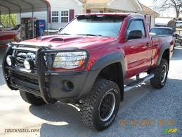 2006 Toyota Tacoma Regular Cab 4x4 in Impulse Red Pearl - 246410 ...