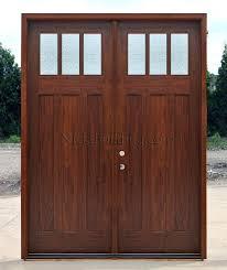 craftsman double front door. Wonderful Door Double Front Door With Art Glass Craftsman Doors In 8 0 Rain  Throughout Craftsman Double Front Door A