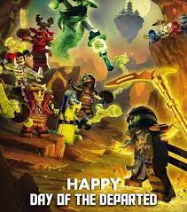 Happy Day of the Departed Everyone! #Ninjago #Lego #NinjagoLego  #LegoNinjago #NinjagoEdit #Dayofthed…   Day of the departed, Lego  halloween, Lego ninjago halloween