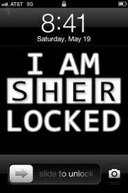 being geek chic fab freebies i am sherlocked iphone background