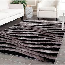 safavieh 3d black gray 8 ft x 10 ft area rug