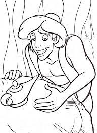 19 Dessins De Coloriage Aladdin Et La Lampe Merveilleuse Imprimer Coloriage Aladdin Et Genie De La Lampe L