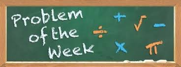 Image result for MATH PROBLEM OF THE WEEK