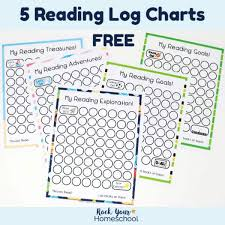 Free Reading Log Printable Charts That Your Kids Will Love