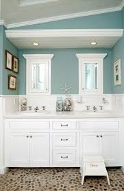 best seaside bathroom ideas on beach themed rooms coastal wall decor seafoam green bathroom with with sea glass decor