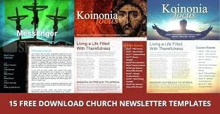 Christian Newsletter Templates Free School For Word Picture