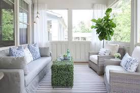 wicker sunroom furniture. Green And Gray Sunroom Design Wicker Furniture