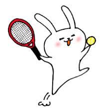「テニスイラストかわいい」の画像検索結果