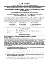 Network Engineer Resumes Resume Sample
