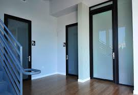 commercial glass swing doors for individual rooms