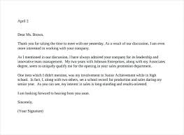 Awesome Collection Of Interview Letter Nice Sample Post Interview