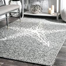 handmade indoor outdoor starfish porch area rugs 4 x 6 grey p