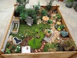 fairy gardens. Fairy Garden Timber Raised Bed Gardens
