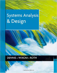 Cover Page System Analysis And Design Fifth Edition Book