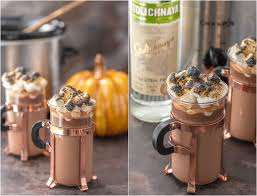 Spiked Slow Cooker Pumpkin Pie Hot Chocolate The Cookie Rookie